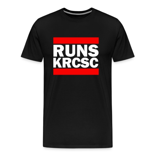 KRCSC logo (black) - Men's Premium T-Shirt