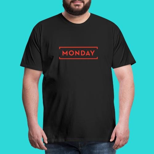 Manic Monday - The Week Day Collection - Men's Premium T-Shirt
