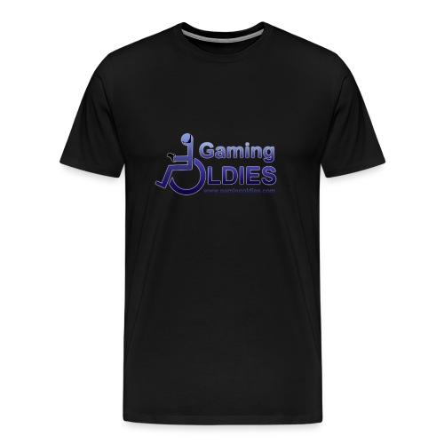 Gaming OldiesV4Merchandise copy png - Men's Premium T-Shirt