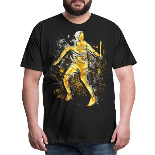 Badminton - Smash - Badminton Spieler - Männer Premium T-Shirt