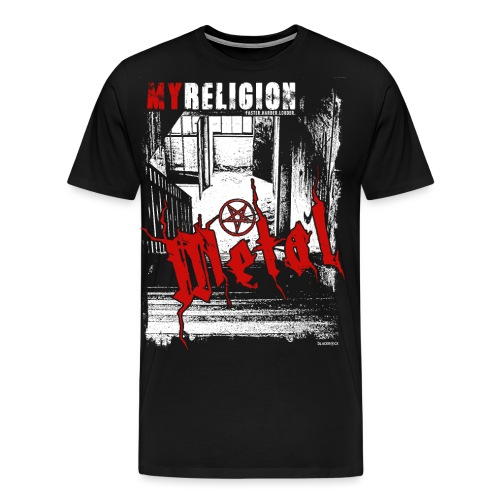 METAL | LOST PLACES - Männer Premium T-Shirt
