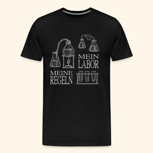 mein labor meine regeln Chemiker Forschung - Männer Premium T-Shirt