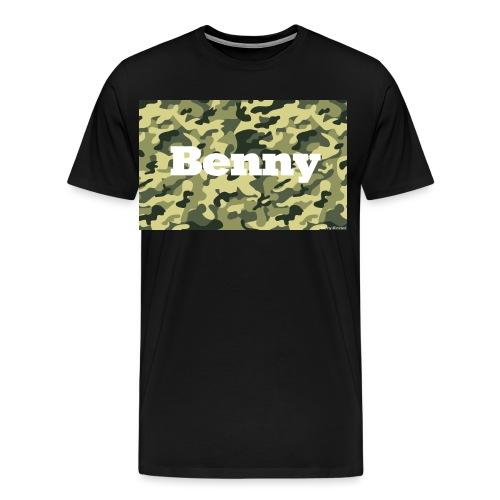 Camo Long Tee Limited Benny - Männer Premium T-Shirt