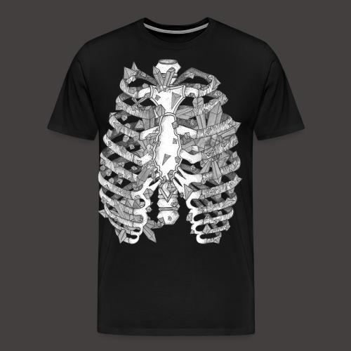 La Cage Thoracique de Cristal - T-shirt Premium Homme