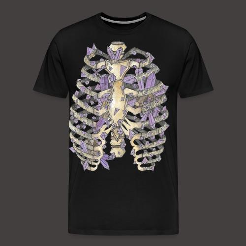 La Cage Thoracique de Cristal couleur - T-shirt Premium Homme
