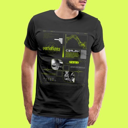 VARI8 NΞØN - Men's Premium T-Shirt