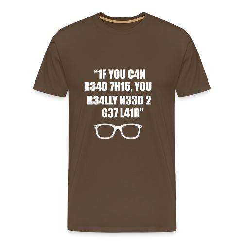 Lustige T-Shirts - Männer Premium T-Shirt