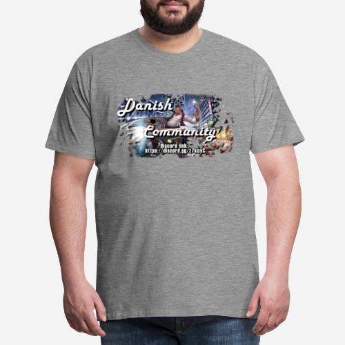 Dansih community - fivem2 - Herre premium T-shirt