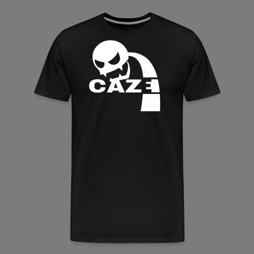 CazeLogoW png - Männer Premium T-Shirt