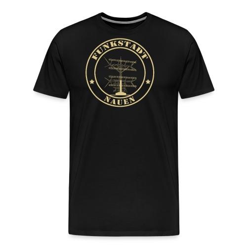 Goldener Funker - Männer Premium T-Shirt