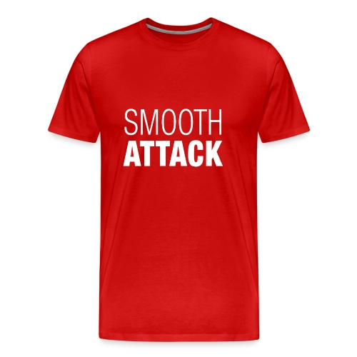Smooth Attack neg png - Männer Premium T-Shirt