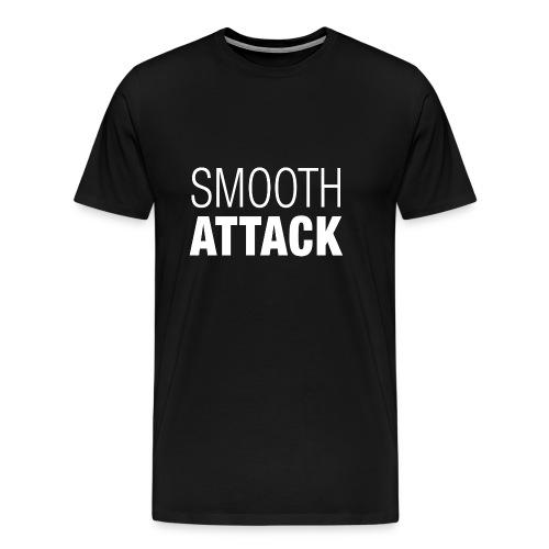 Smooth Attack neg png - Männer Premium T-Shirt