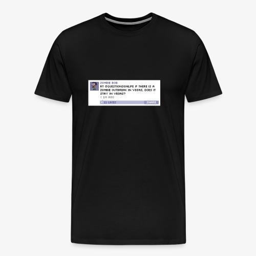 från en av mina gmmla appar - Premium-T-shirt herr