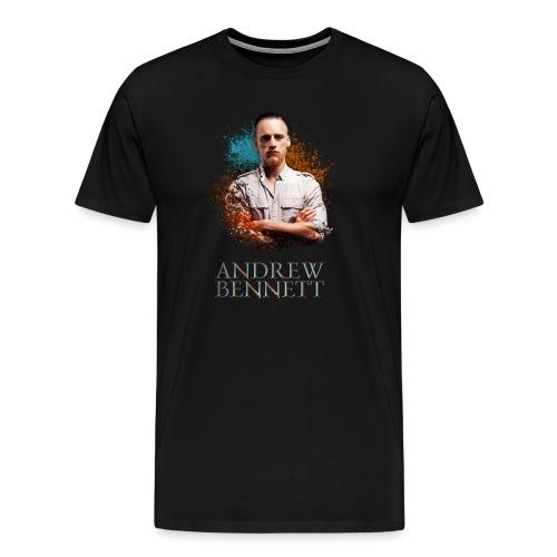 Schwartz - T-shirt Premium Homme