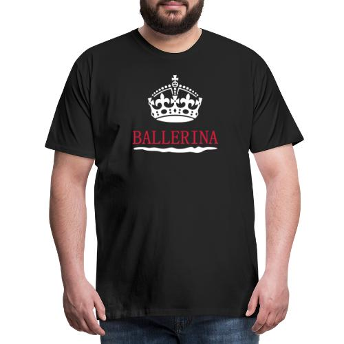 Ballerina Koks Koka Ketamin witzige Drogen Sprüche - Männer Premium T-Shirt