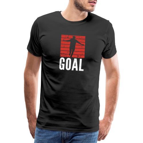 soccer goal - Männer Premium T-Shirt