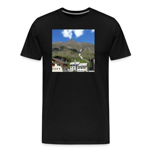 Berge Alm - Männer Premium T-Shirt