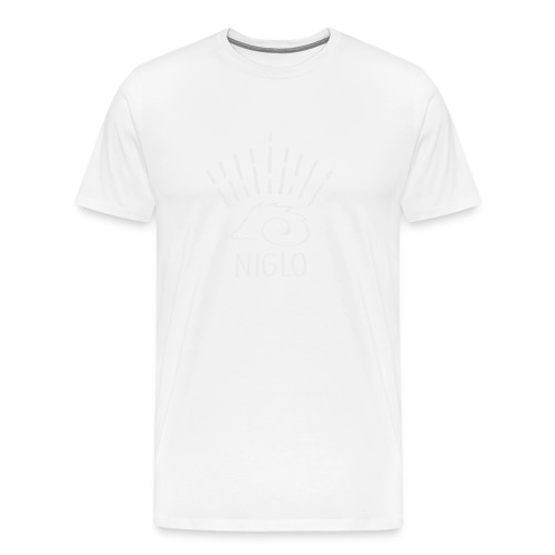 niglo king gris hérisson - T-shirt Premium Homme