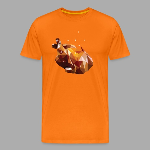 Turkey polyart - Men's Premium T-Shirt