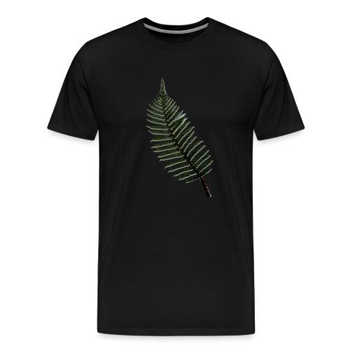 enkele veer - Mannen Premium T-shirt
