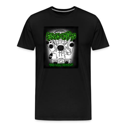 PsychoDad - AreYouReady - Miesten premium t-paita
