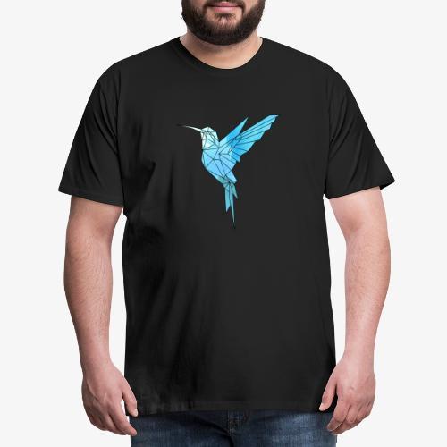 Kolibri Geometrisch - Männer Premium T-Shirt