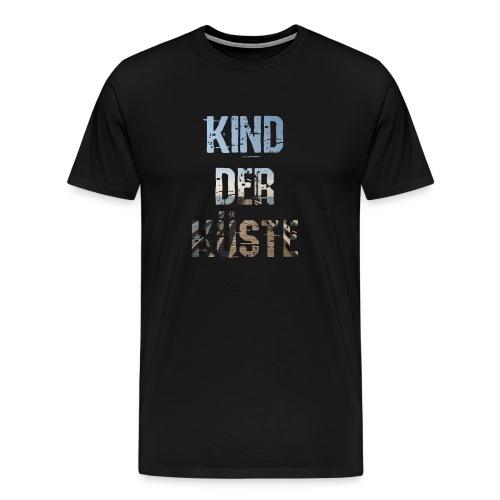 Plattdeutsch Kind der Küste Norden Spruch-Shirt - Männer Premium T-Shirt