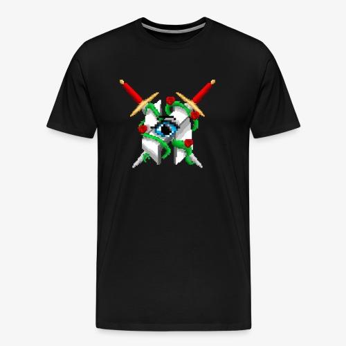 Hault Swords & Roses - Men's Premium T-Shirt