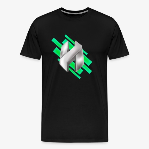 Abstract Green - Men's Premium T-Shirt