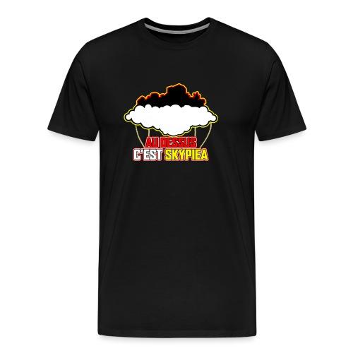 AU DESSUS C'EST SKYPIEA - T-shirt Premium Homme