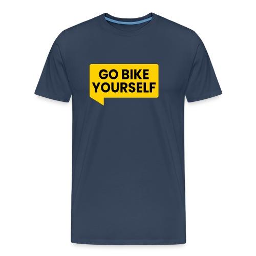 go bike yourself - Männer Premium T-Shirt