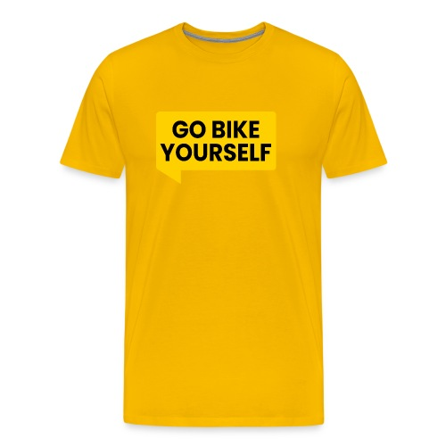 go bike yourself - Männer Premium T-Shirt