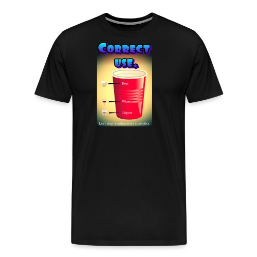 redcup-err - Camiseta premium hombre