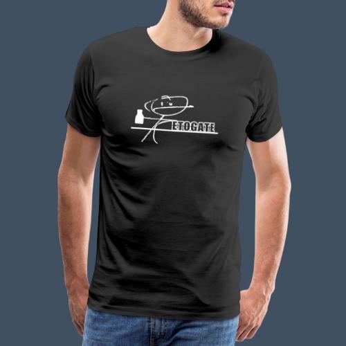 Etogate Weiß - Männer Premium T-Shirt