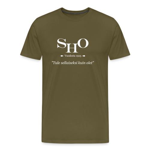 SHO - Tule sellaiseksi kuin olet - Miesten premium t-paita