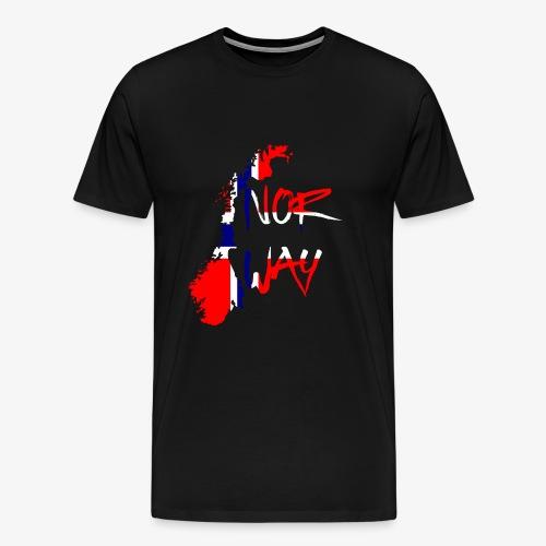 Norway Norwegen - Männer Premium T-Shirt