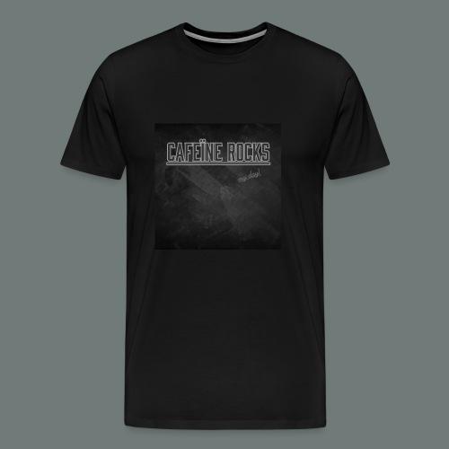Cafeïne Rocks My Day - Mannen Premium T-shirt