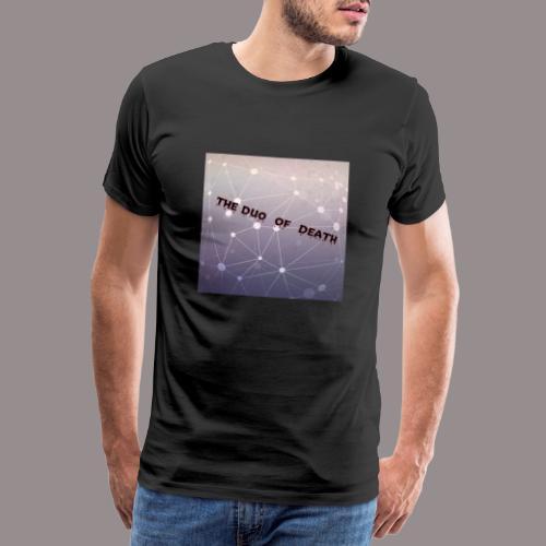 The duo of death logo - Mannen Premium T-shirt