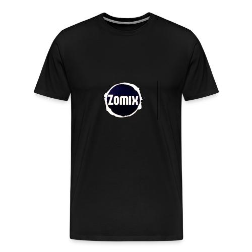 Zomix Official Logo - T-shirt Premium Homme