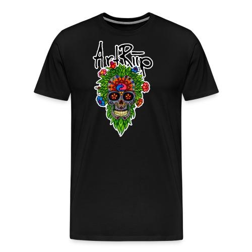 ArtRiipSkull - Männer Premium T-Shirt