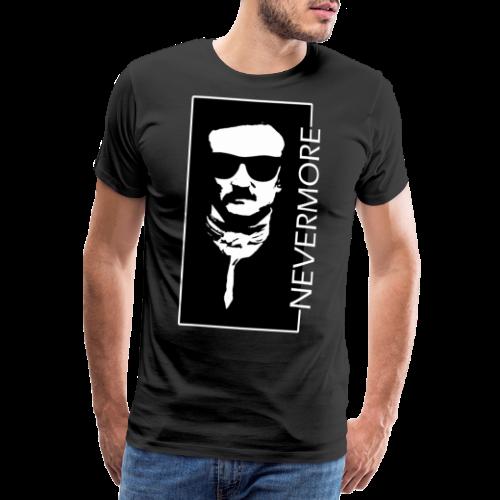 Dark Visions - Edgar Allan Poe Hipster Portrait 5 - Männer Premium T-Shirt