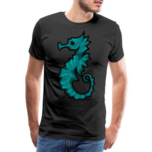 Cabalito de Mar kawaii - Camiseta premium hombre