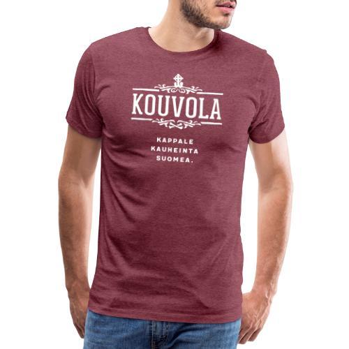 Kouvola - Kappale kauheinta Suomea. - Miesten premium t-paita