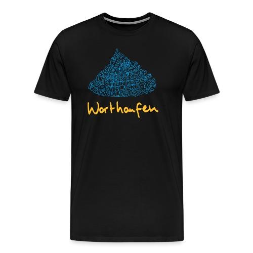 Worthaufen - Männer Premium T-Shirt