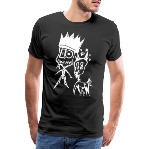 ObscureBlack And Dog AKAi - Maglietta Premium da uomo