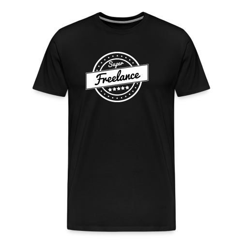 Super freelance - blanc - T-shirt Premium Homme