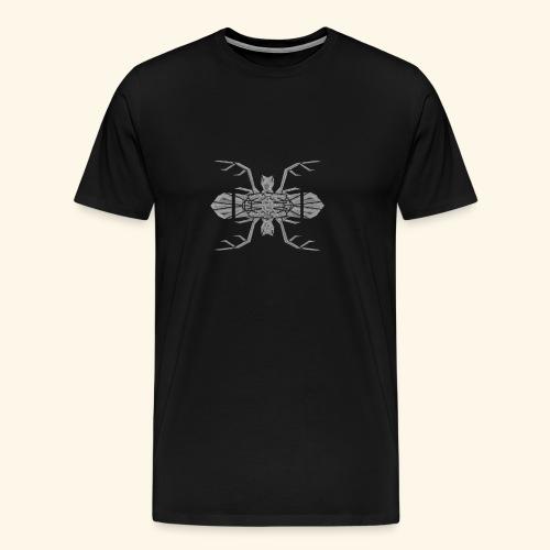 Cerf - Souris - T-shirt Premium Homme