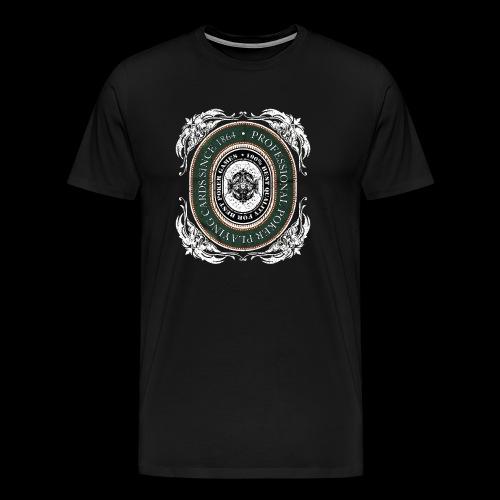 Poker Cards 1864 (oldstyle) - Männer Premium T-Shirt