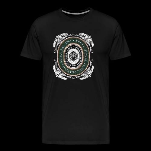 Poker Cards 1864 (oldstyle) - Men's Premium T-Shirt