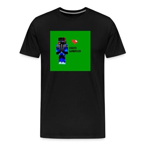 Adoro Lasata gameplays - Camiseta premium hombre